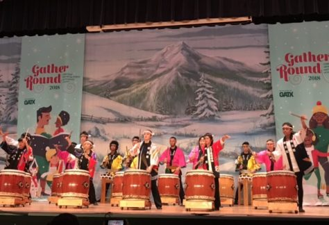 Museum Of Science And Industry Christmas Around The World 2019 Home   Tsukasa Taiko